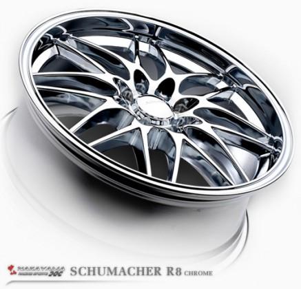 SCHUMACHER R8 CHROME
