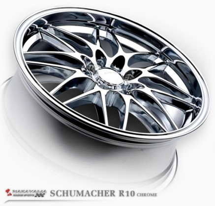 SCHUMACHER R10 CHROME
