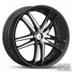 FANG S820 BLACK WITH CHROME INSERTS